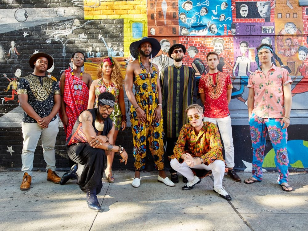 Mwenso & The Shakes, who will perform in Princeton this November Photo Credit: Elizabeth Leitzell / Sacks & Co