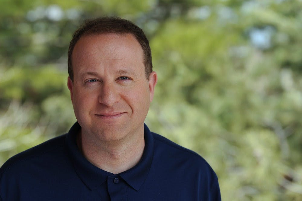 "<h5>Colorado Governor Jared Polis '96 sat for a portrait.</h5> <h6>Courtesy of Jared Polis gubernatorial <a href=""https://www.colorado.gov/governor/gov-polis"" target=""_self"">website</a></h6>"