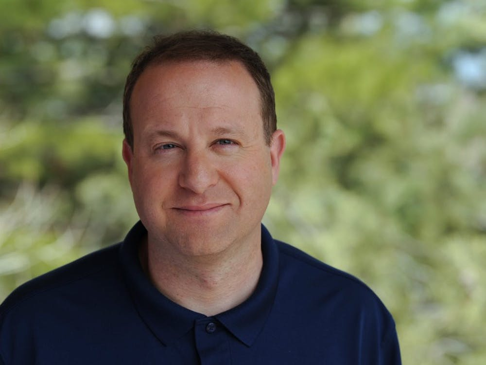 Colorado Governor Jared Polis '96 sat for a portrait. Courtesy of Jared Polis gubernatorial website