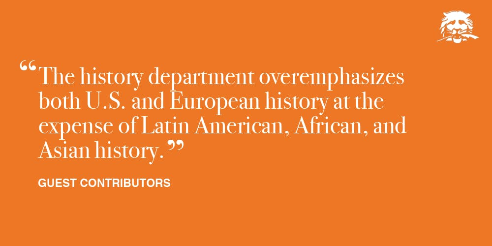 Looking for Latin America in the history department | The