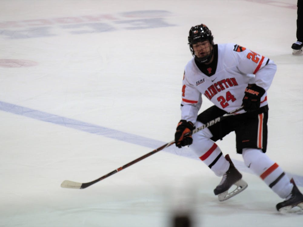 Matthew Thom and Princeton hockey will take the ice at Baker Rink this weekend. Photo Credit: Jack Graham / The Daily Princetonian
