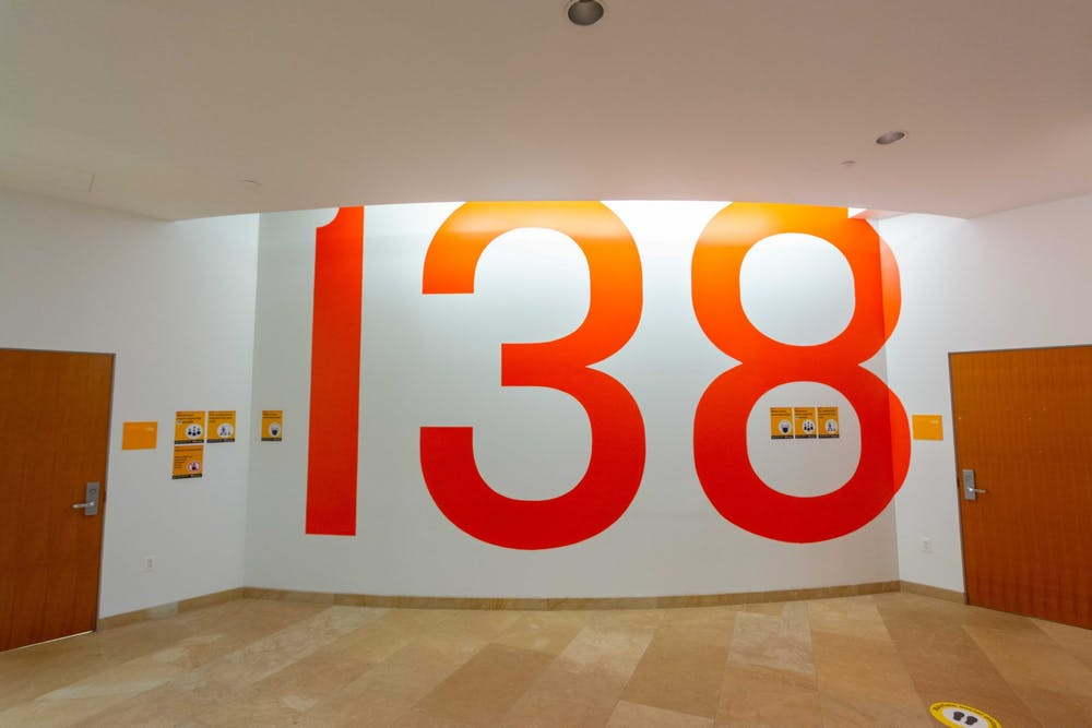 <h5>Lewis Library Room 138, where USG meetings took place in previous years.&nbsp;</h5> <h6>Julian Gottfried / The Daily Princetonian</h6>