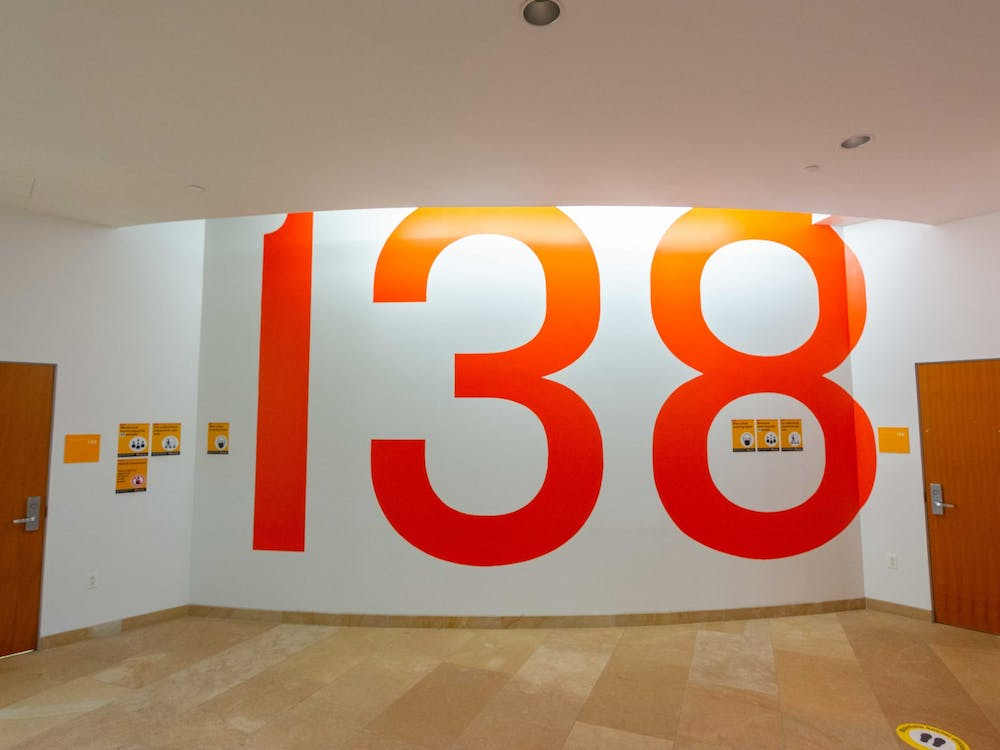 Lewis Library Room 138, where USG meetings took place in previous years. Julian Gottfried / The Daily Princetonian