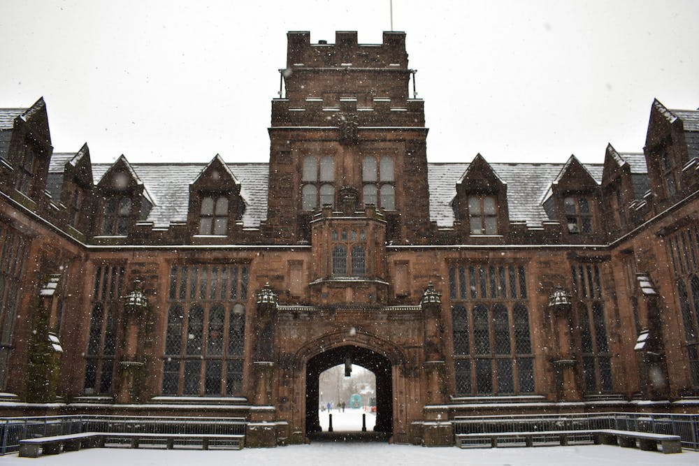 <h5>East Pyne Hall</h5> <h6>Mark Dodici / The Daily Princetonian</h6>