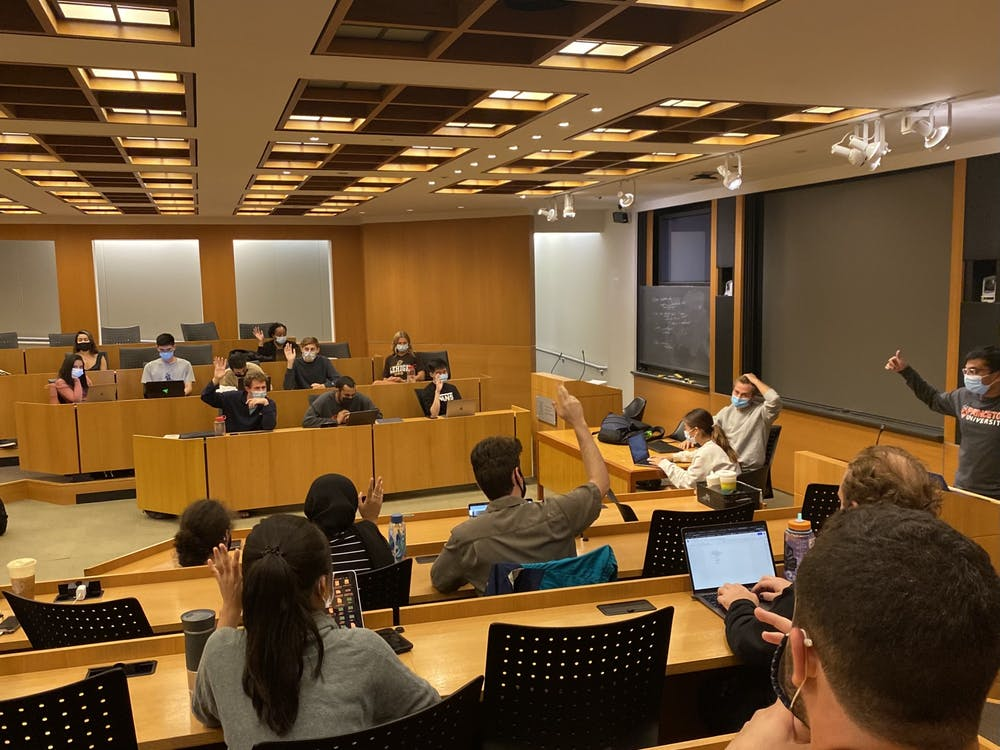 USG Council members vote to confirm new committee members. Caroline Shückel/The Daily Princetonian