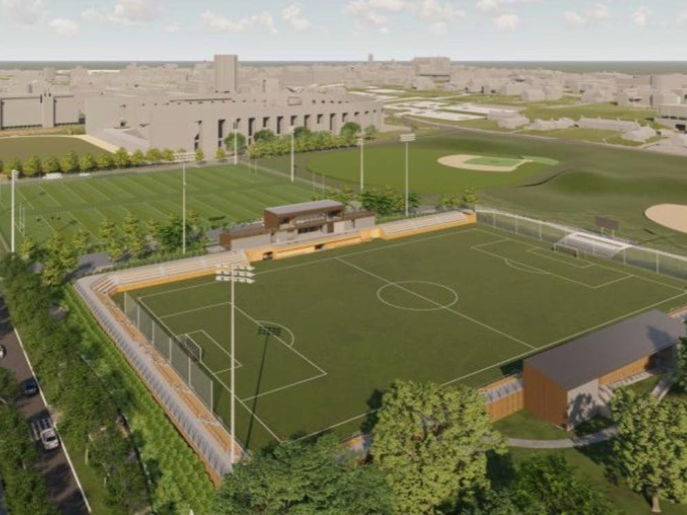 Design for the new Roberts Stadium on East Campus.  Courtesy of Princeton University Facilities.