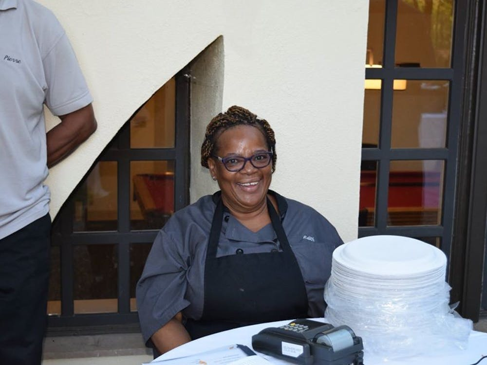 Edith Murray has worked in Campus Dining for two decades. Photo Courtesy of the Center for Jewish Life