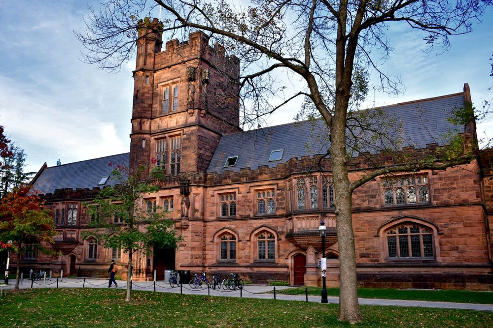 <h6>East Pyne Hall.</h6> <h6>Jon Ort / The Daily Princetonian</h6>