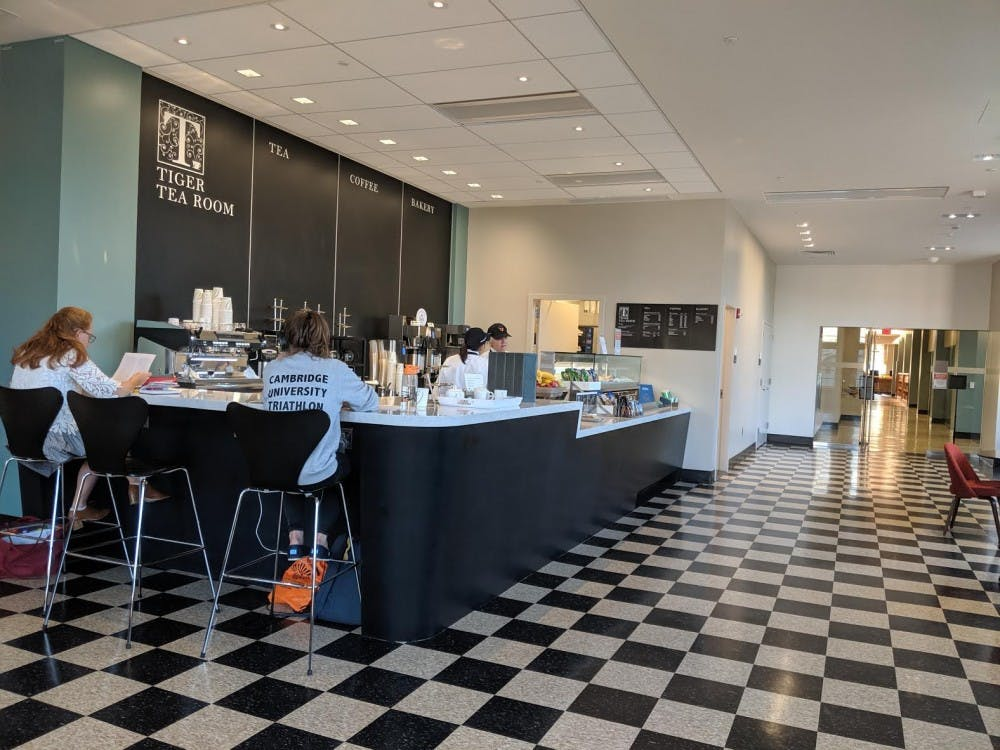 <p>The newly-opened Tiger Tea Room in Firestone Library.</p> <h6>Photo Credit: Ben Ball/The Daily Princetonian</h6>