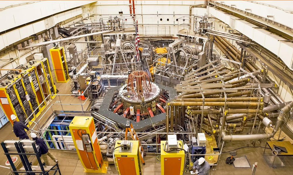 <p>The Princeton Plasma Physics Laboratory</p> <h6>Photo Credit: Elle Starkman / PPPL Communications</h6>