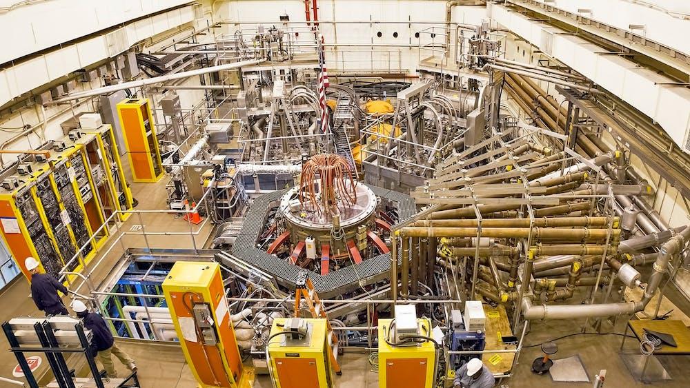 The Princeton Plasma Physics Laboratory Photo Credit: Elle Starkman / PPPL Communications