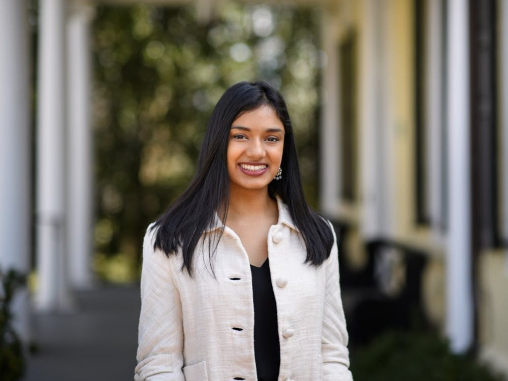 Sarah Varghese '19, pictured  Courtesy of Mike Hotchkiss / Office of Communications