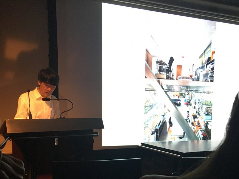 Renowned architect Shimada lectures on influences