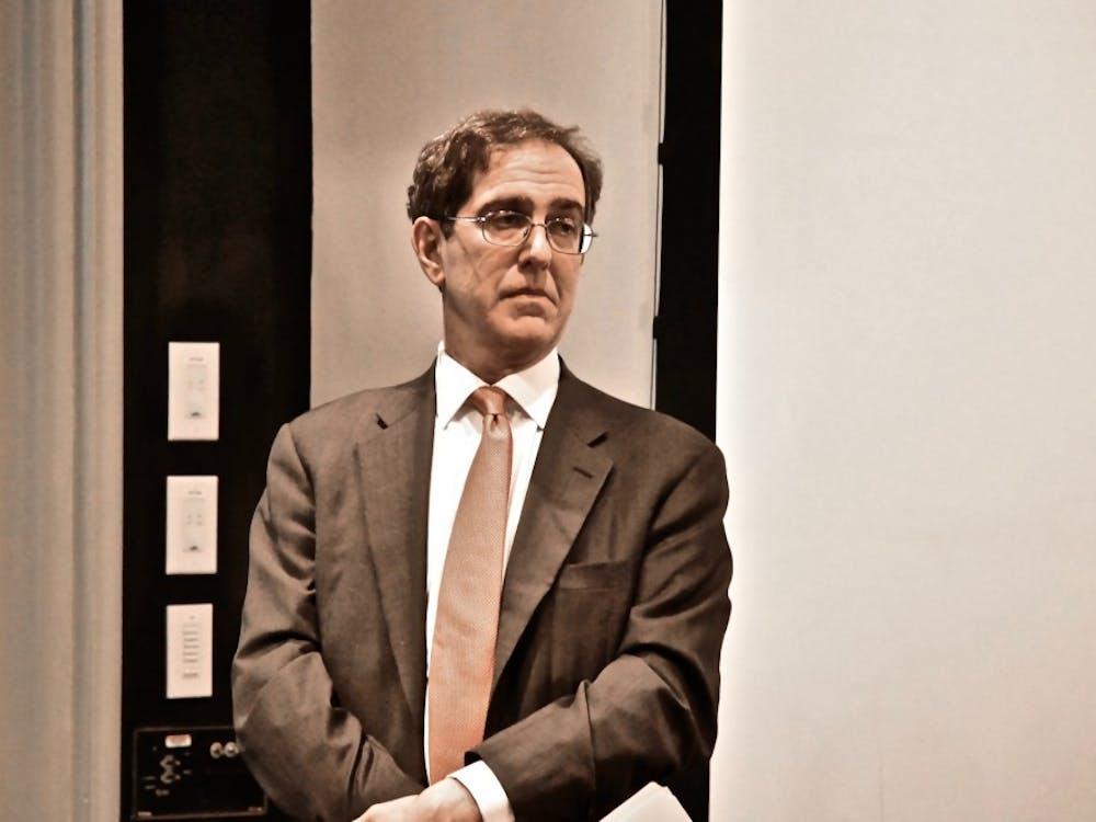 University President Christopher Eisgruber '83 Photo Credit: Jon Ort / The Daily Princetonian
