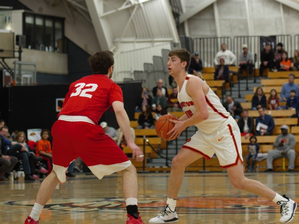 Ryan Schwieger scored 26 points against Dartmouth Friday