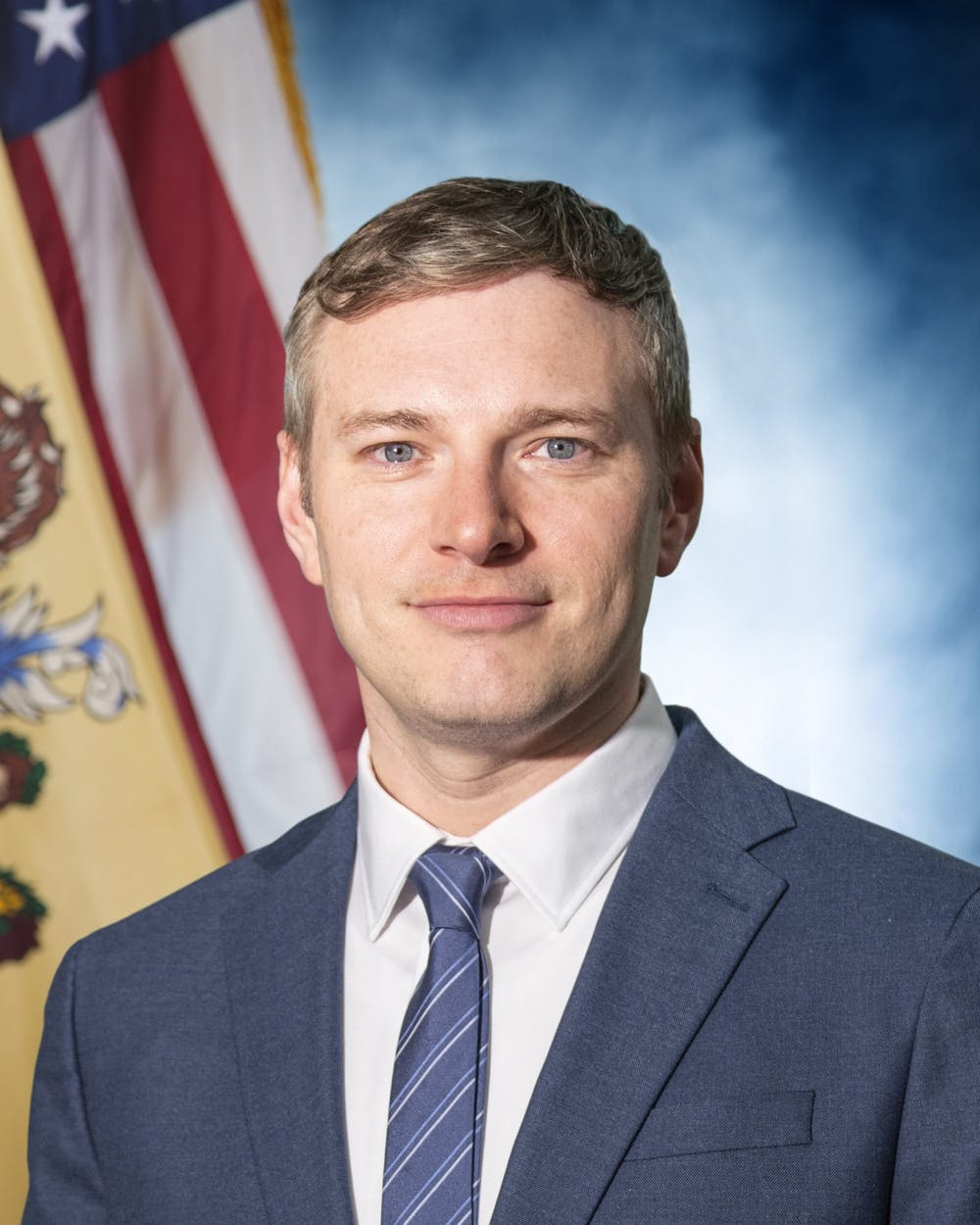 """<h5>Andrew Bruck, Acting Attorney General of New Jersey</h5> <h6>Courtesy of the New Jersey Office of the Attorney General <a href=""""https://www.njoag.gov/about/meet-acting-ag-bruck/andrew-bruck-headshot-3/"""" target=""""_self"""">website</a>.</h6>"""