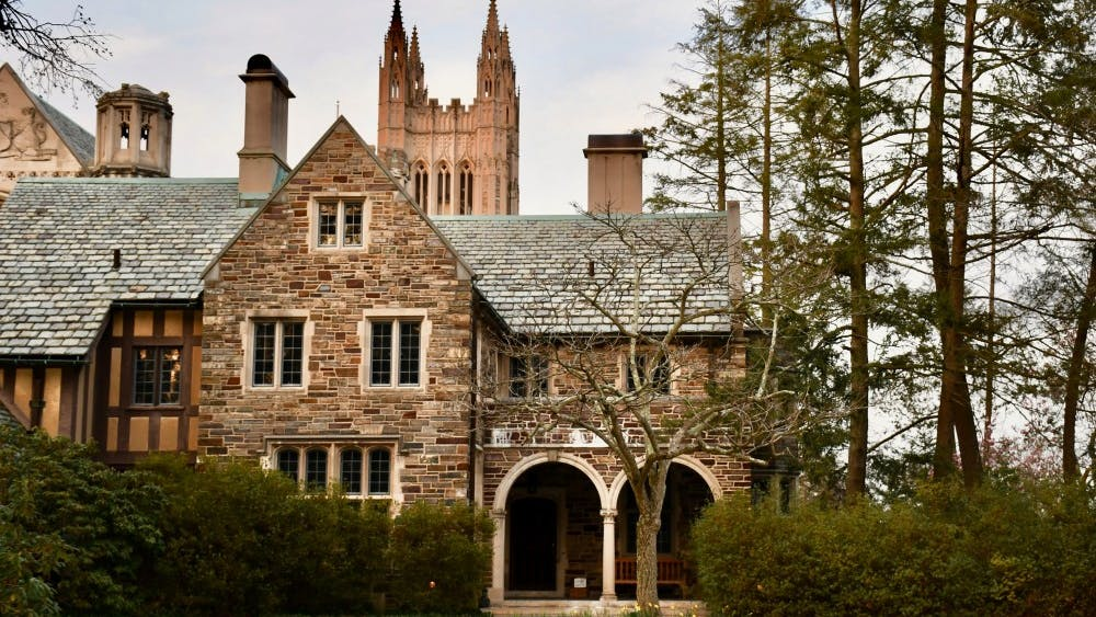 The Princeton University Graduate College. Photo Credit: Jon Ort / The Daily Princetonian