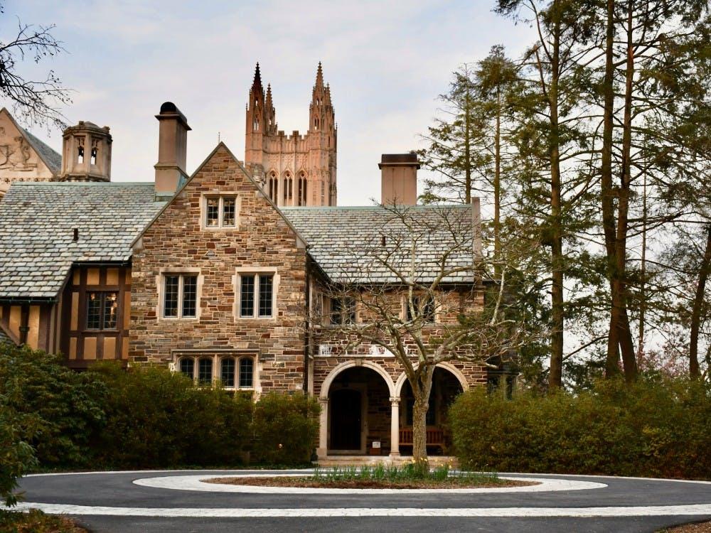 The Princeton University Graduate College. Photo Credit: Jon Ort / The Daily Princetonian
