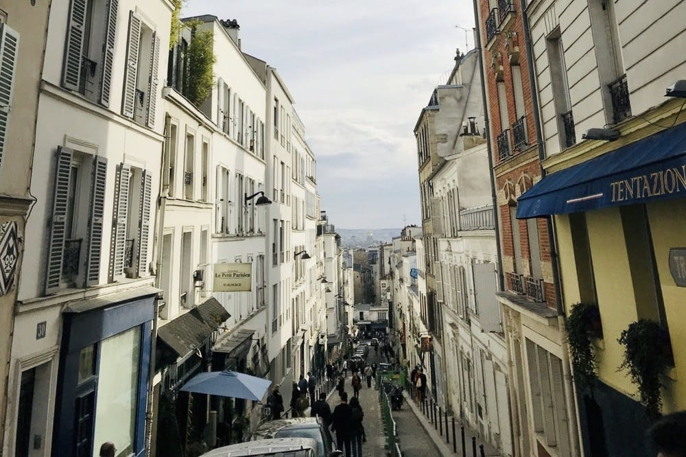 <h5>Montmartre in daytime.</h5> <h6>Mikaela Avakian / The Daily Princetonian</h6>