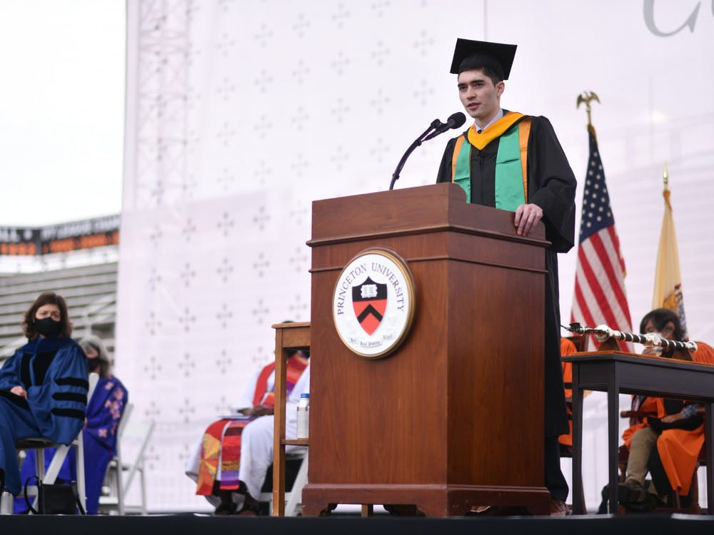 Taishi Nakase at Princeton University 2021 Commencement Charles Sykes / Associated Press Images for Princeton University