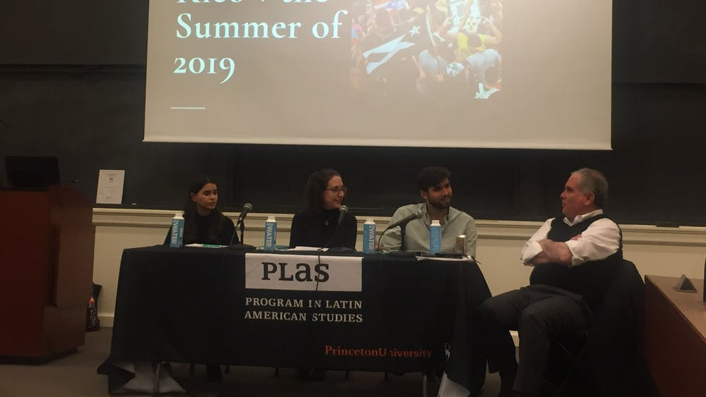 """Graduate students discuss the state of Latin American politics at the """"Latin America Today: Upheavals and Repression, Part II"""" series. Photo Credit: Rooya Rahin / The Daily Princetonian"""