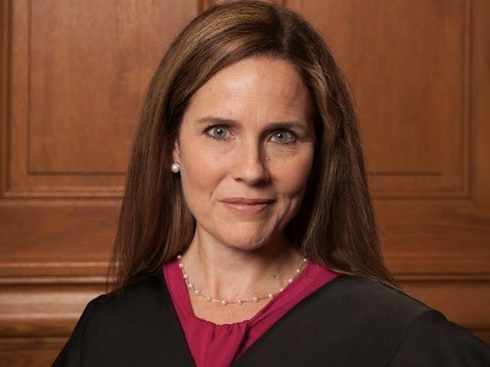 Judge Amy Coney Barrett in 2018. Courtesy of Wikimedia