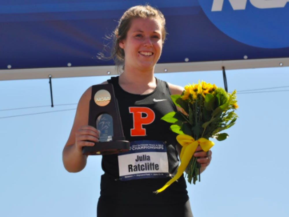 Julia Ratcliffe '17 will represent New Zealand in the hammer throw at the 2021 Tokyo Olympics. Courtesy of Goprincetontigers.com