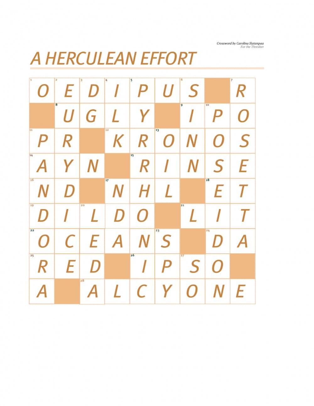 crossword-answer-key