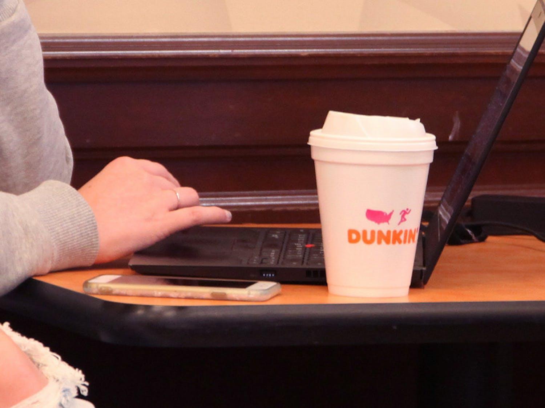 Dunkin-Styrofoam-Cup-Cooper-Tennant