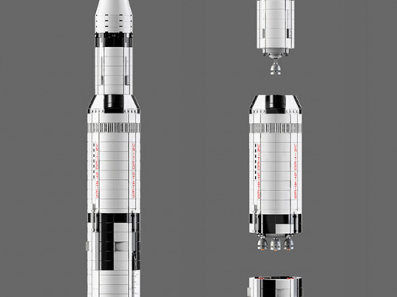 Satging-Saturn-V