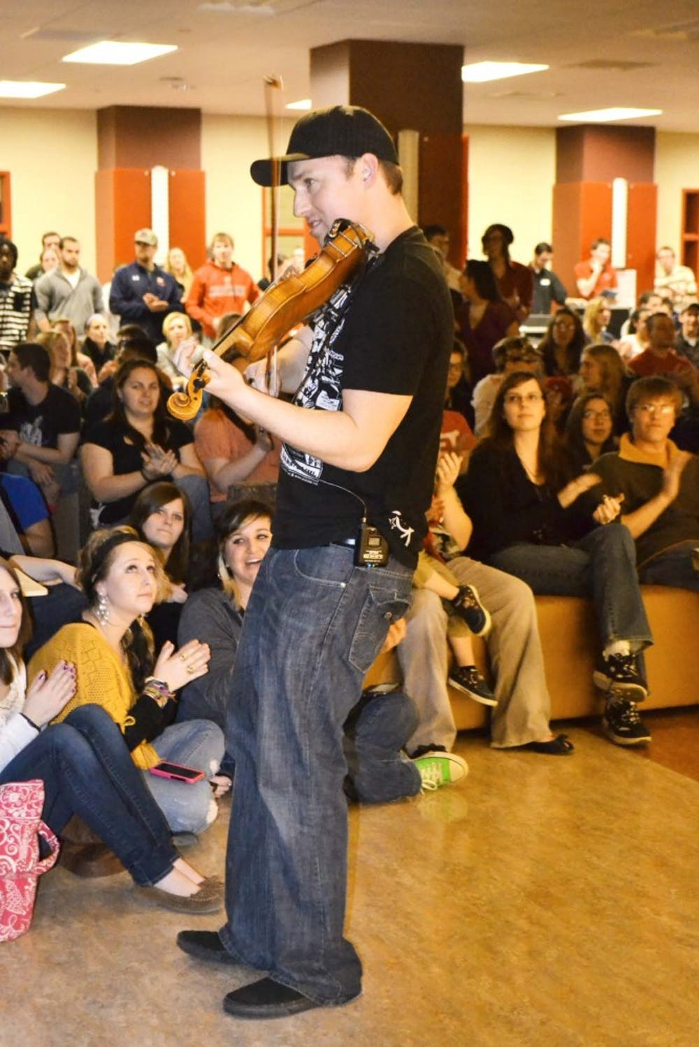 Hip Hop and pop violinist Josh Vietti performs at SU