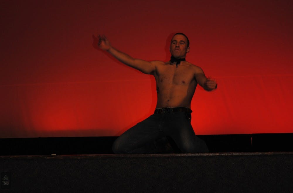 Beautiful men ascend on SU campus for pageant