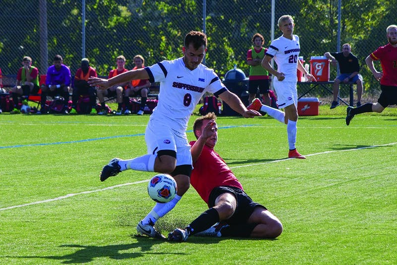 The SU men's soccer game has struggled recently, as it as lost five-straight matches.