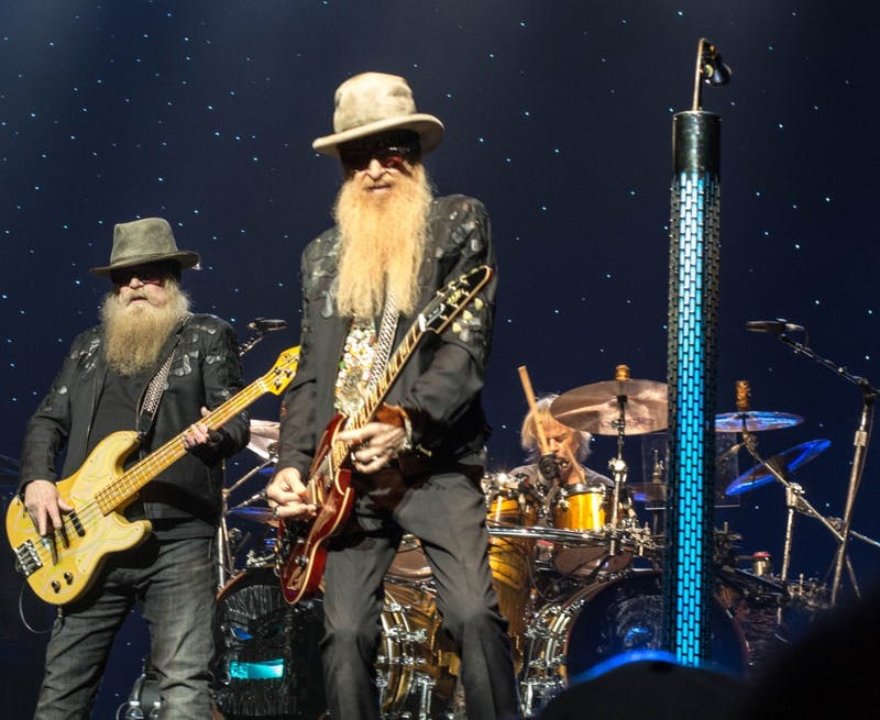 ZZ Top members jammed at their sold-out performance.