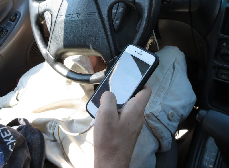 It can wait. Texting and driving puts yourself and those around you in danger.