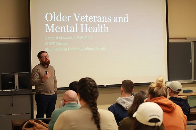 Bernard Showers discusses the effects of war on veterans. Mental health treatment in the military has come a long way, but the stigma started early.