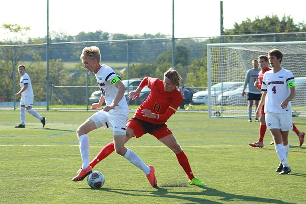 Men's soccer continues hot streak, knocks off PSAC opponents