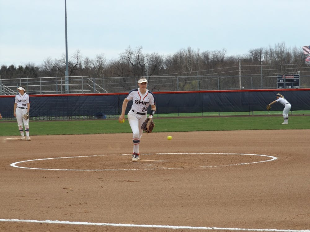 Softball makes easy work of Lock Haven in Saturday contests