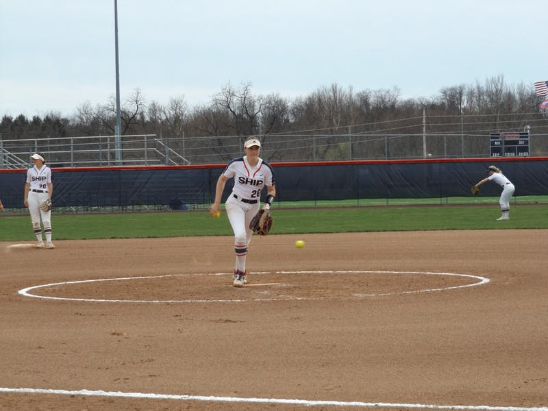 Brianna Small tossed her first career complete game in Game 1 Saturday, scattering five hits and striking out 11.