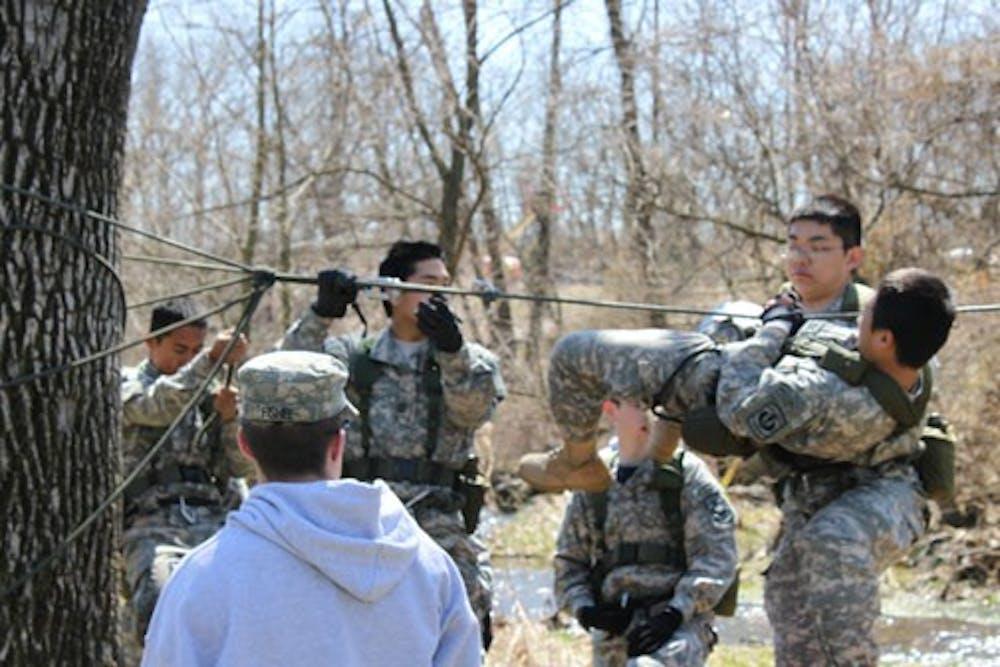 SU ROTC hosts JROTC Raider Challenge competition on campus