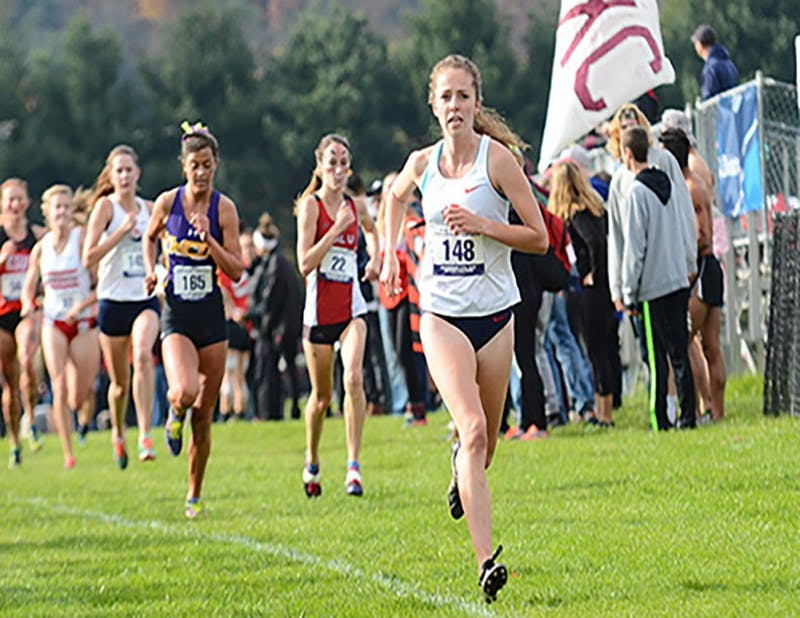 Jackie Kinkead paced SU with a 10th-place finish at the 2017 regional meet.