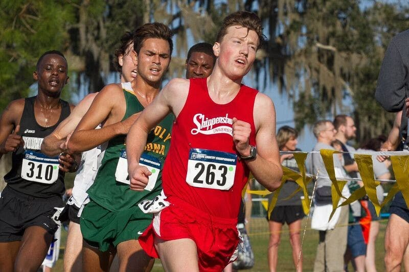 Kieran Sutton finished 25th overall at the 2016 Cross-Country National Championships in Saint Leo, Florida.