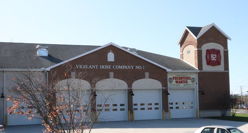 Shippensburg Township residents cast their votes at the Vigilant Hose Company on Walnut Bottom Road.