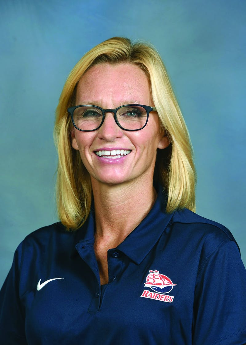 Alison Feeney has also served as the tennis and football team's faculty athletic mentor. She has been at Shippensburg Univeristy for 23 years.
