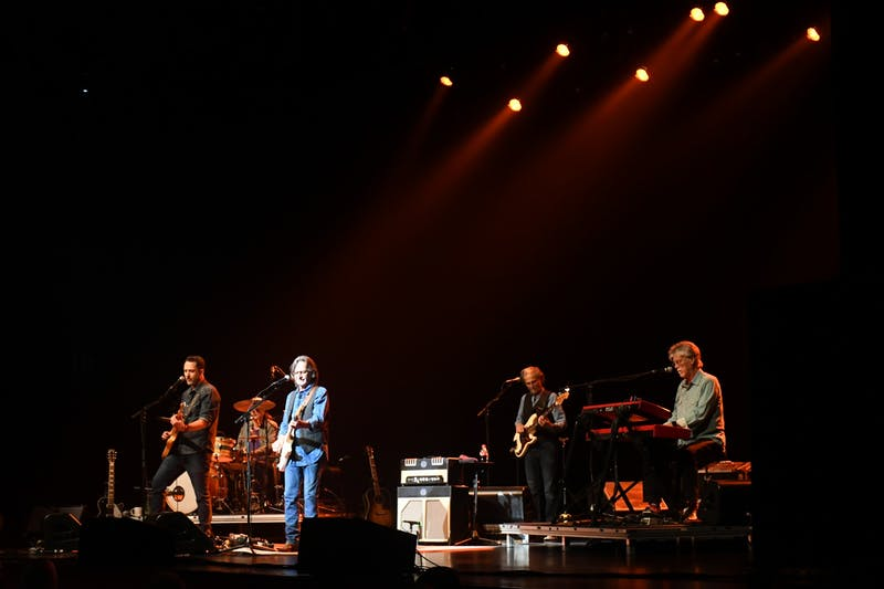 The Nitty Gritty Dirt Band performed at the Luhrs Performing Arts Center Oct. 9. This was the first show held at Luhrs since the COVID-19 pandemic began.