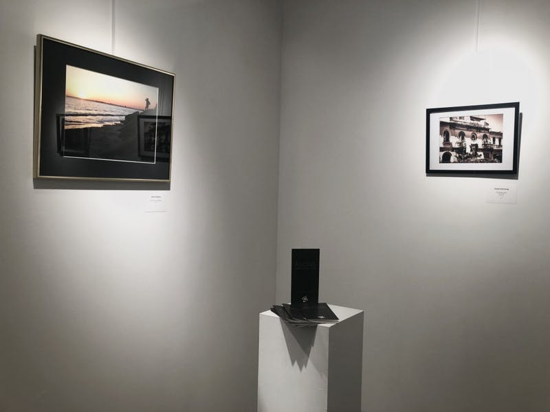 "In addition to hosting The Reflector's open mic, the SHAPE Gallery also displayed several exhibits corresponding to the theme of ""Alone"" throughout the month of October."