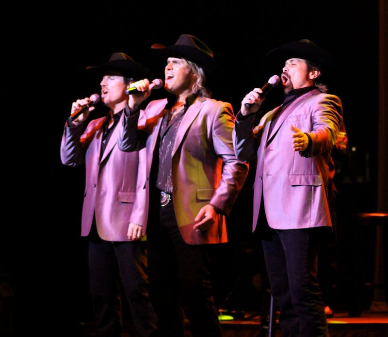 The Texas Tenors performing at Luhrs.