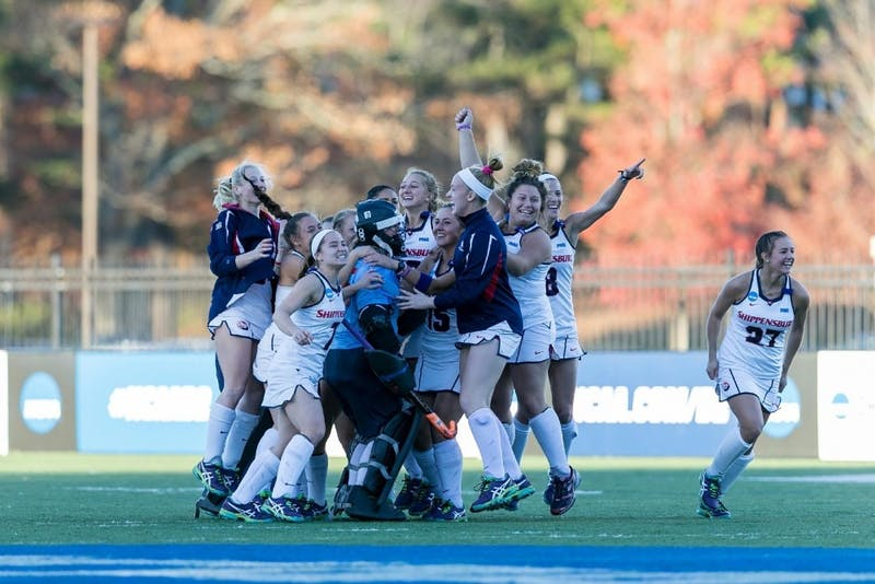 The 2016 SU field hockey team defeated Millersville University in the NCAA Semifinals to advance to the national championship. SU will look to defeated ESU on Friday to advance to its second-straight NCAA Championship.