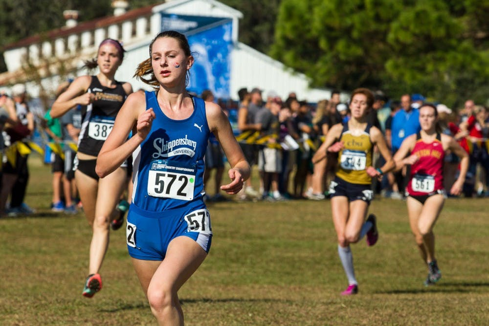 Women's cross-country places 24th in nation