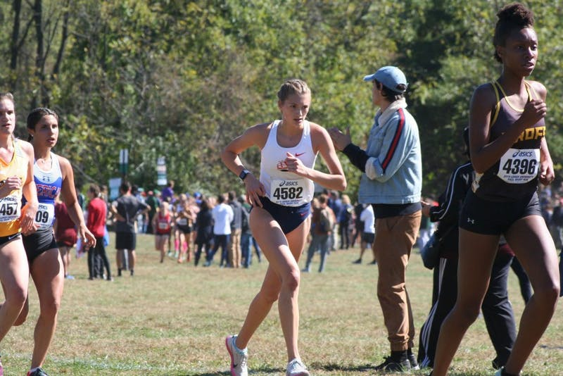 Madison Murtland finished as the Raiders' No. 3 runner at the Paul Short Run. She has placed within SU's top three in each of its three meets this season.